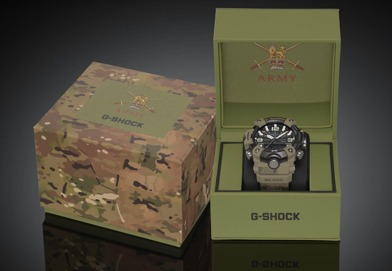 Casio G-Shock Mudmaster X Her Majesty's Armed Forces