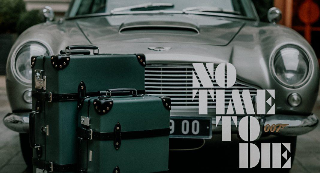 Ook in No Time To Die gebruikt Bond Globe-Trotter koffers