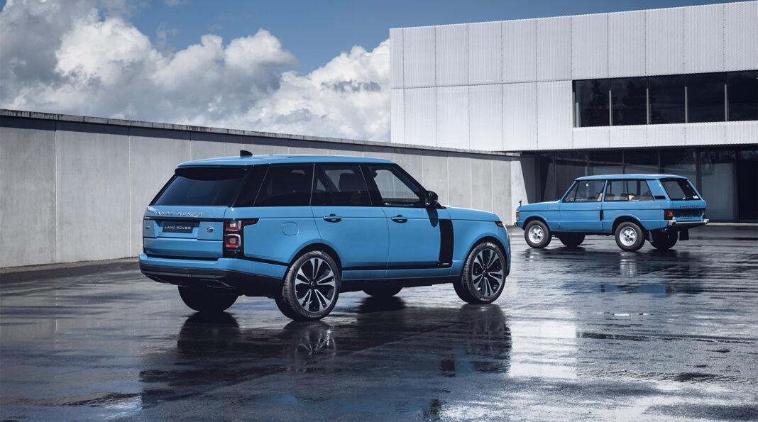 Land Rover introduceert de nieuwe Range Rover Fifty