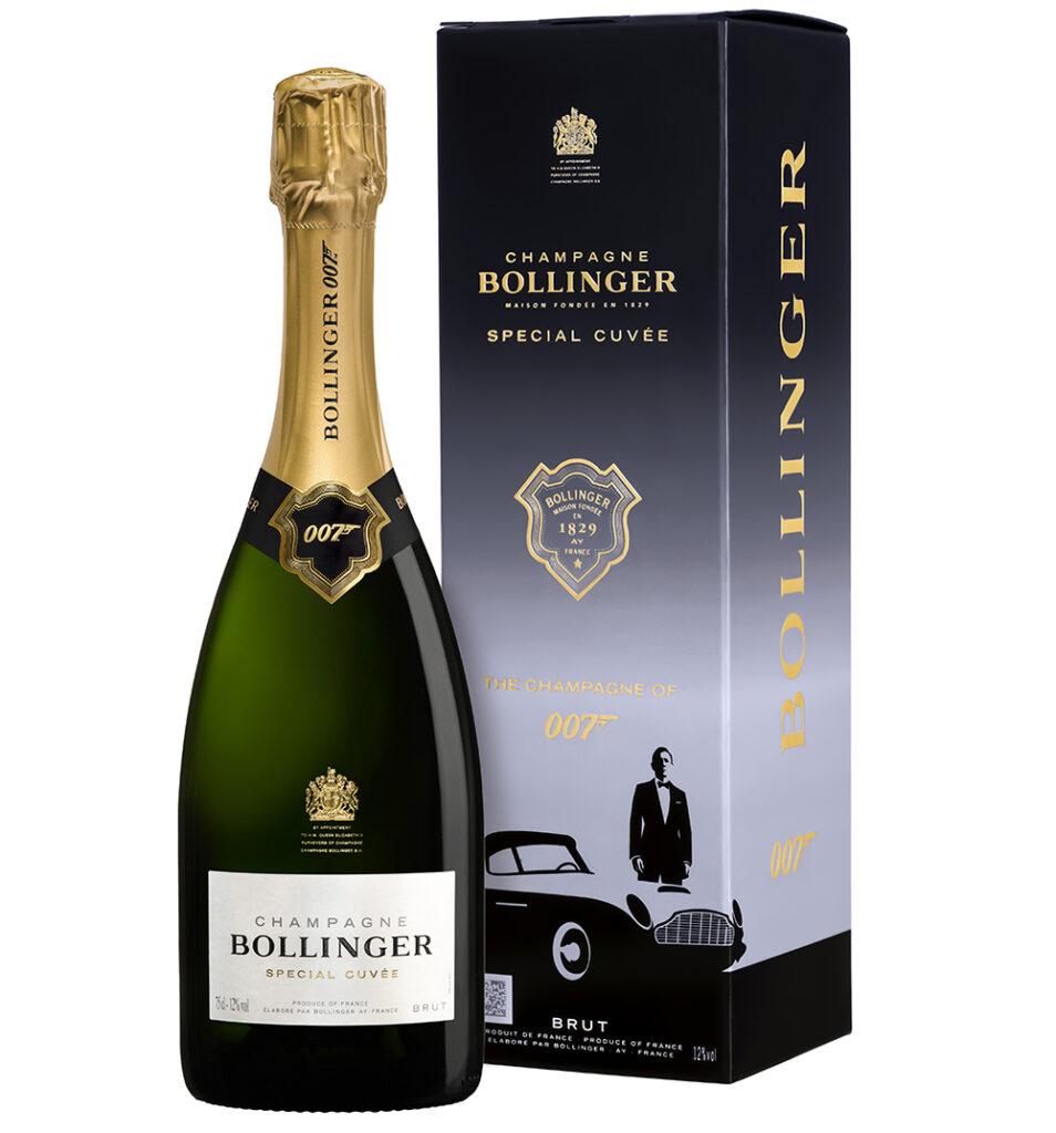 Gelimiteerde oplage Bollinger 007-champagne