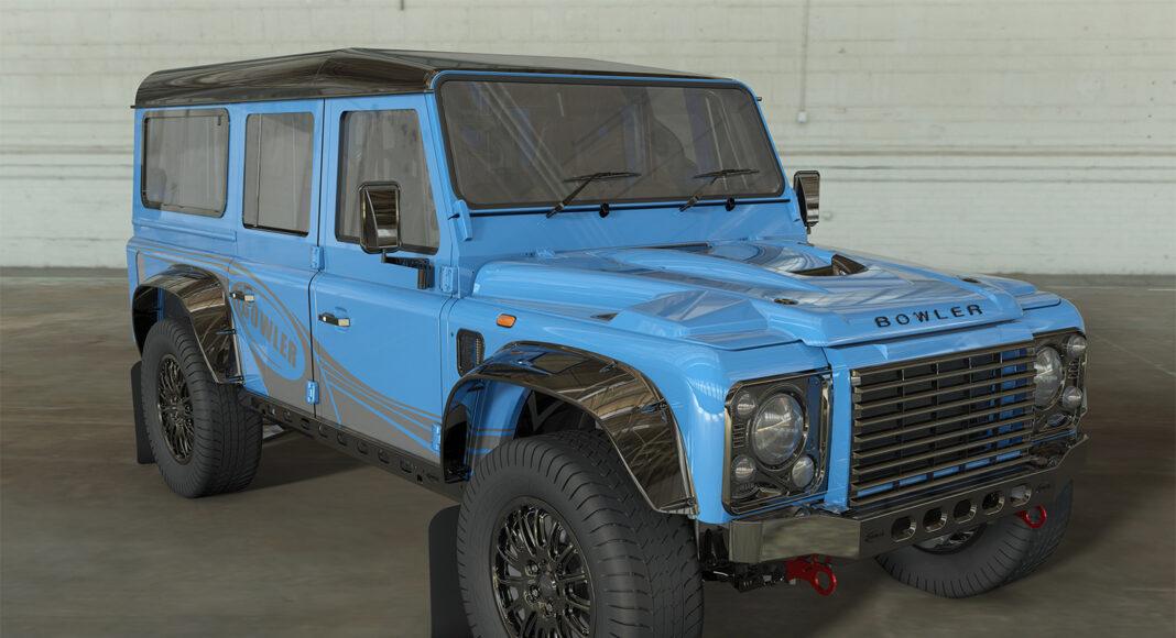 Iconsiche Defender vorm blijft door Land Rover licentie Bowler