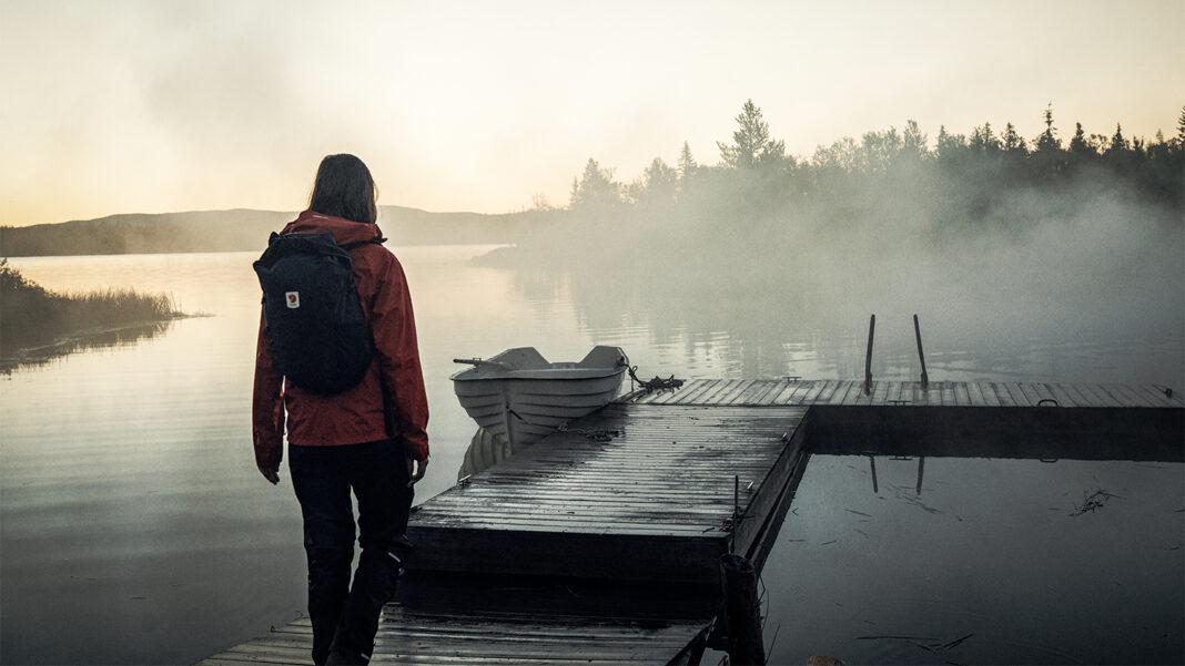 Stoer en stijlvol High Coast Hydratic Jacket van Fjällräven