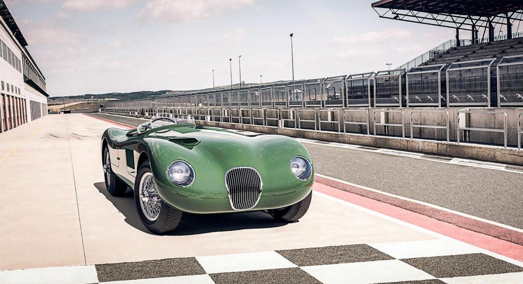 Jaguar Classic viert zeventigste verjaardag van Jaguar C-type