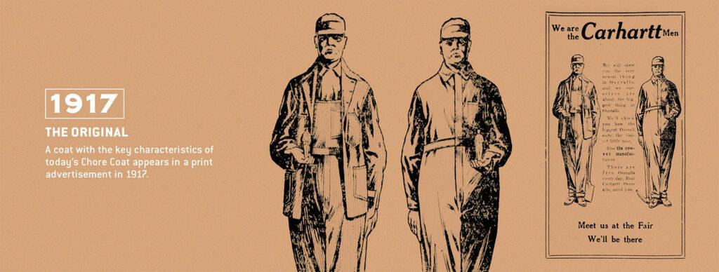 De Firm Duck Chore Coat al 104 jaar in productie
