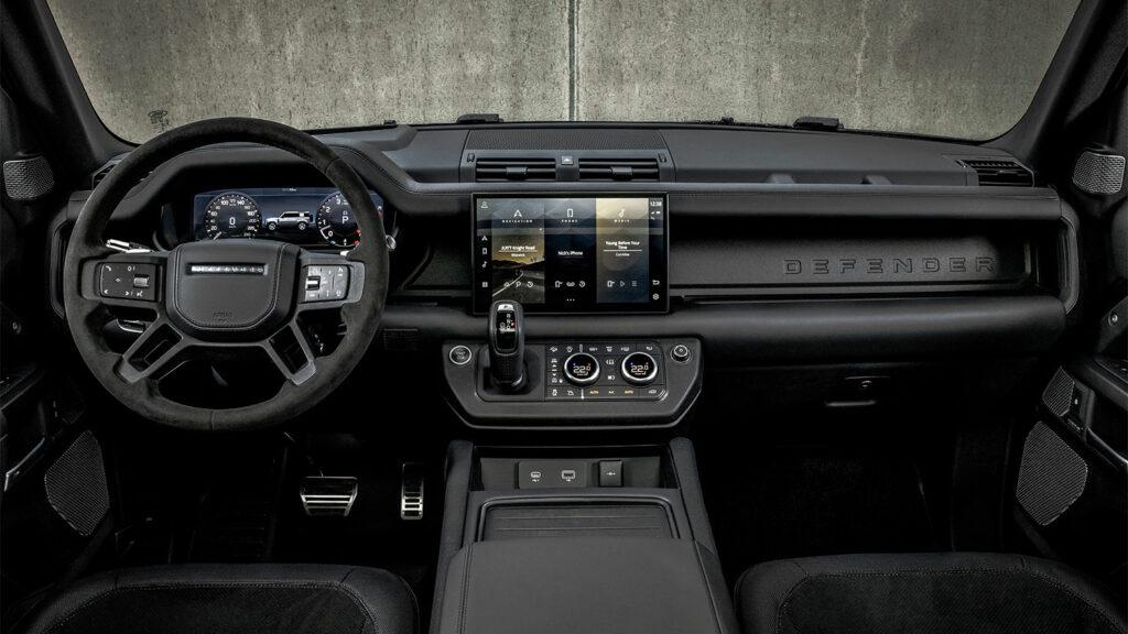 De Land Rover Defender V8 een outdoor en urban monster