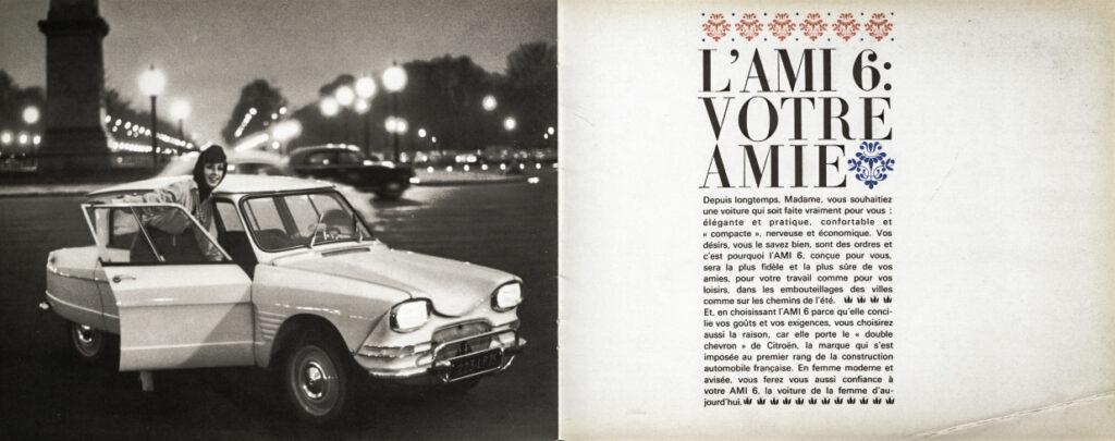 Citroën Ami 6 viert dit jaar 60-jarig jubileum