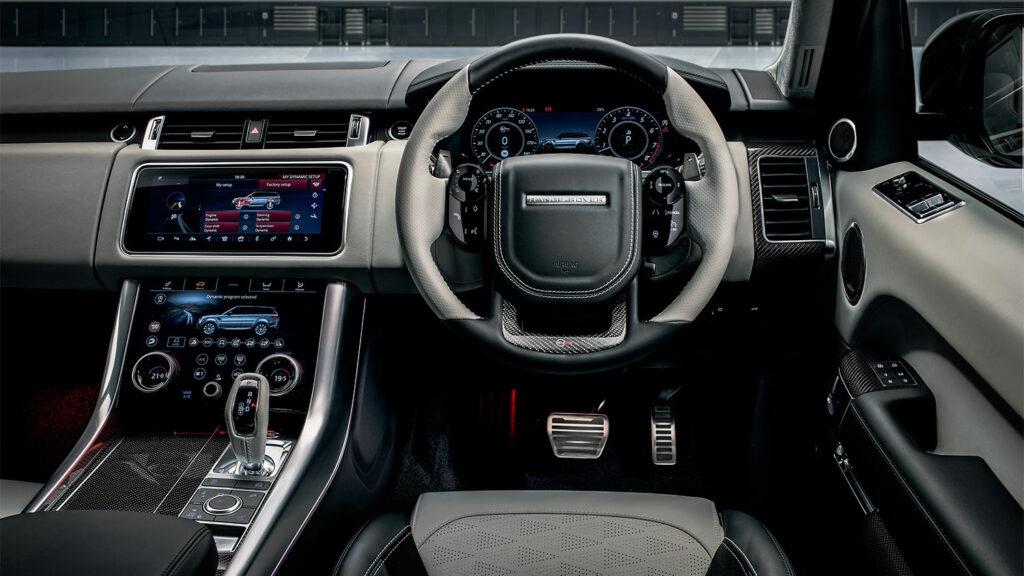 De Range Rover Sport SVR Ultimate Edition van Land Rover SVO
