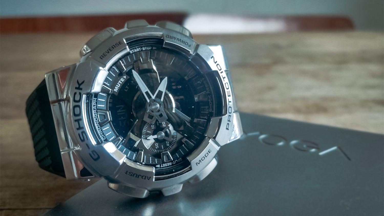 Review: digitaal-analoog G-shock GM-110 horloge